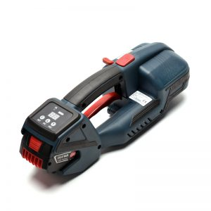 TES PRO aparat za baterijsko spajanje trakov PET 12-16mm + 2x Baterija + Polnilec + Kovček